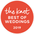 2019 Pick - Best of Weddings on The Knot logo